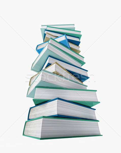 pile of book Stock photo © tiero