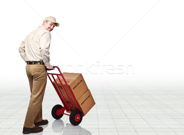 delivery man Stock photo © tiero
