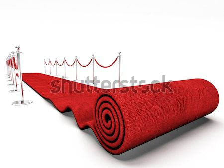 rolling carpet Stock photo © tiero