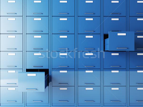 file cabinet Stock photo © tiero
