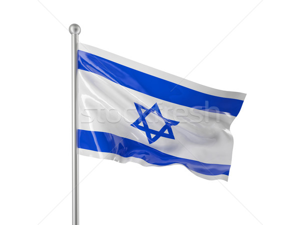 israel flag Stock photo © tiero