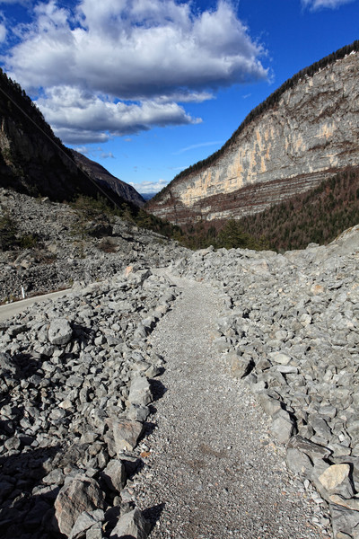 rock mountain way Stock photo © tiero