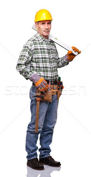 worker portrait Stock photo © tiero