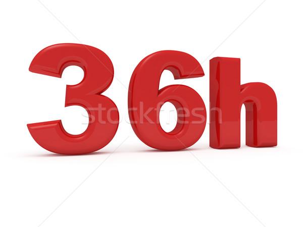 Dienst 3D afbeelding winkel informatie detailhandel Stockfoto © tiero