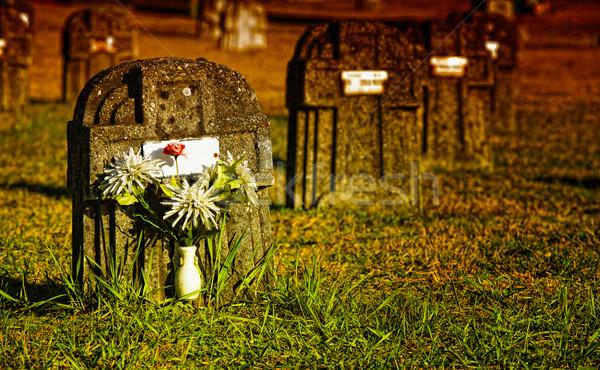 stone tomb Stock photo © tiero
