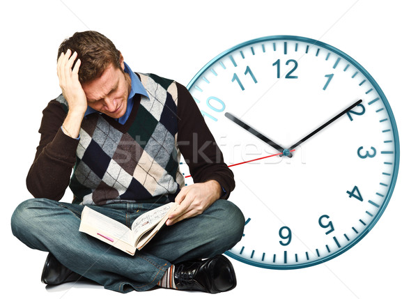 no time to study Stock photo © tiero