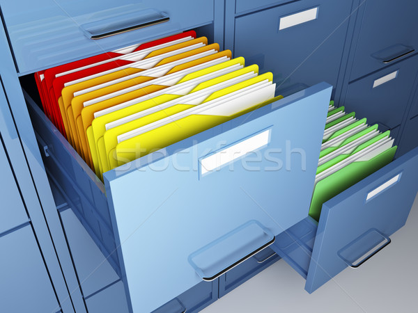 file cabinet detail  Stock photo © tiero