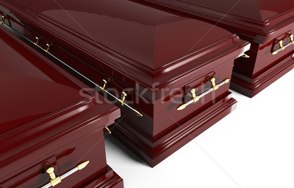 3d coffin Stock photo © tiero
