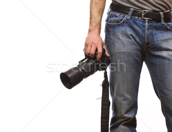 detail of photographer Stock photo © tiero