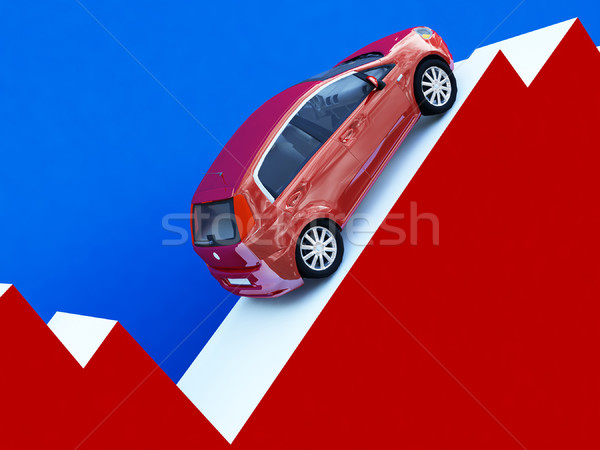 business of cars Stock photo © tiero