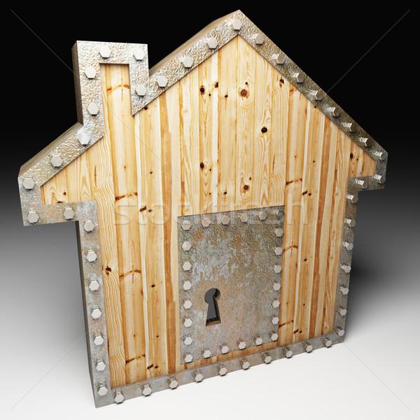 safe house Stock photo © tiero