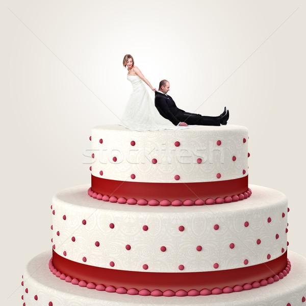 cake topper Stock photo © tiero
