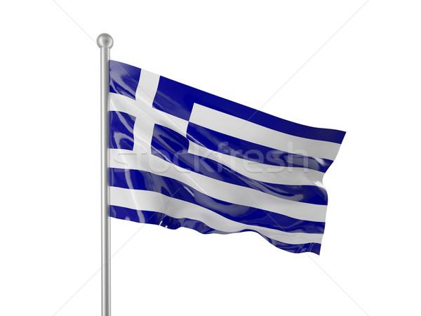 greece flag Stock photo © tiero