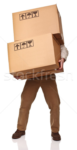hard delivery Stock photo © tiero