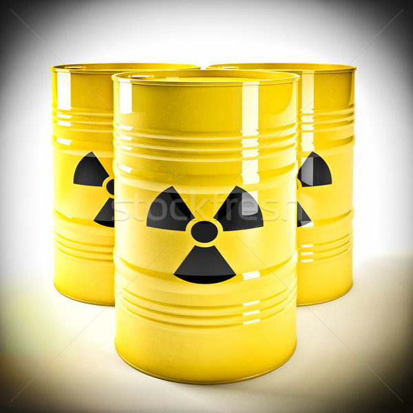 radioactive barell Stock photo © tiero