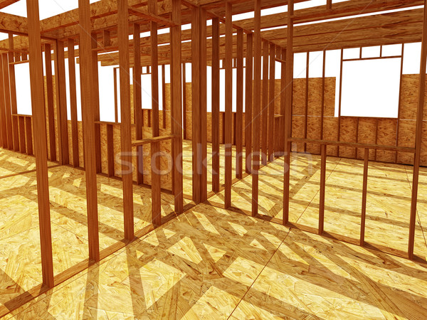 Stock photo: interior od construction site
