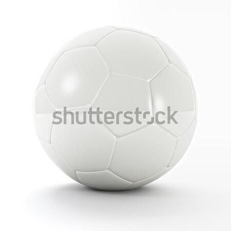 белый футбольным мячом 3D изображение классический мира Сток-фото © tiero