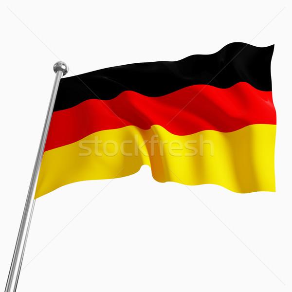 german flag 3d Stock photo © tiero
