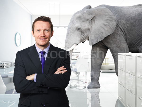 big problem in office Stock photo © tiero