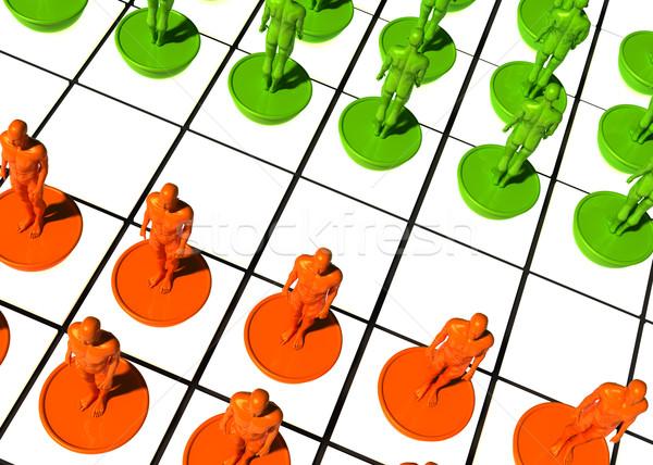 Diferente equipo no trabajo 3D imagen Foto stock © tiero