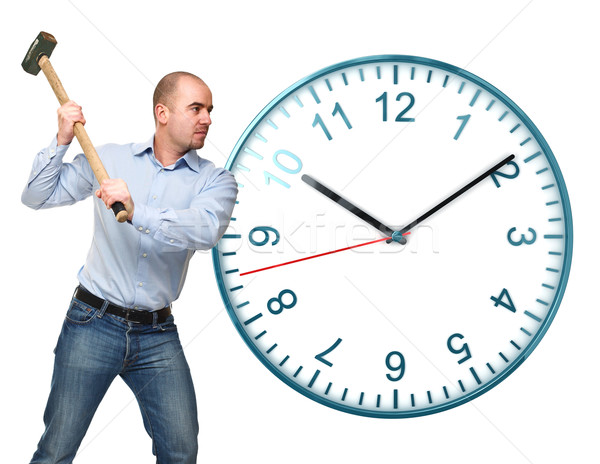 Stock photo: stop the time