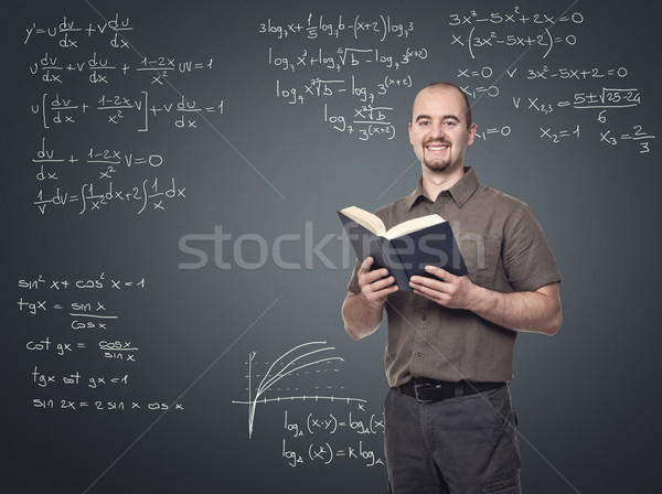 math teacher Stock photo © tiero