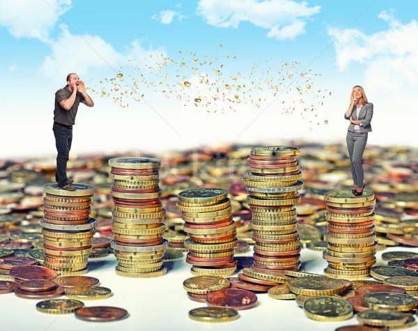 we talk about money Stock photo © tiero