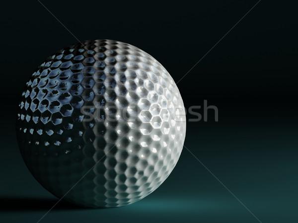 golf ball Stock photo © tiero