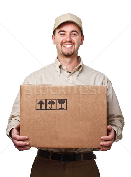 delivery man Stock photo © tiero