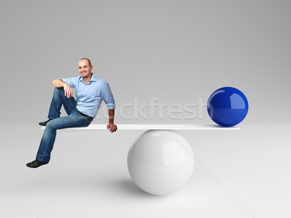 good balance Stock photo © tiero