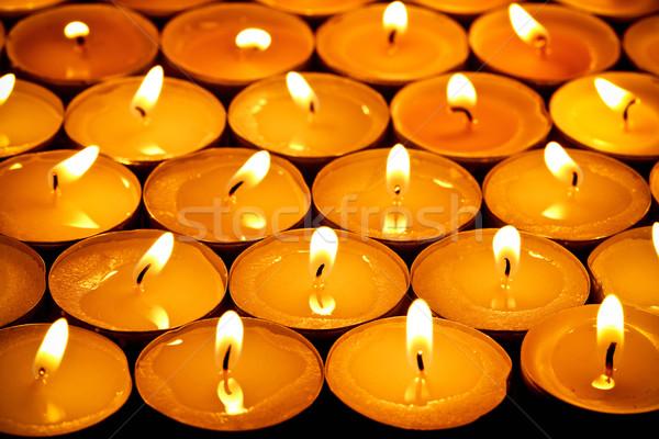 свечу свет изображение мало жизни Сток-фото © tiero