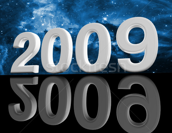 Uzay 2009 3D görüntü parti soyut Stok fotoğraf © tiero