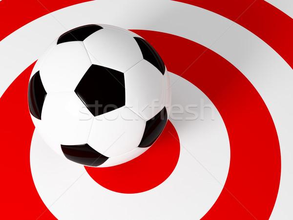 target soccer ball Stock photo © tiero