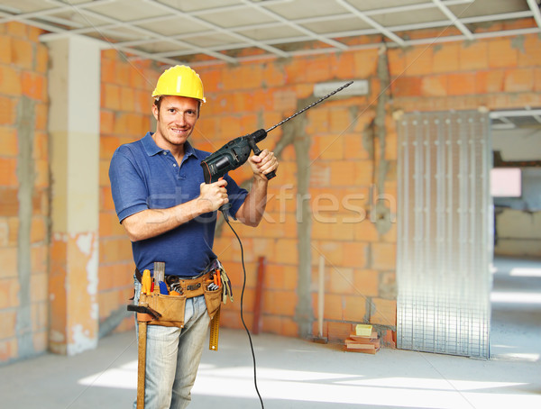 handyman portrait Stock photo © tiero
