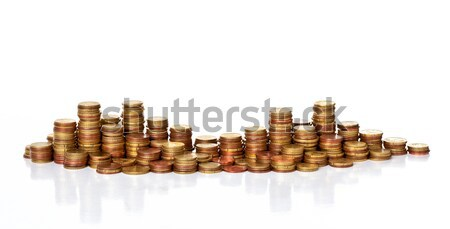 euro coin Stock photo © tiero