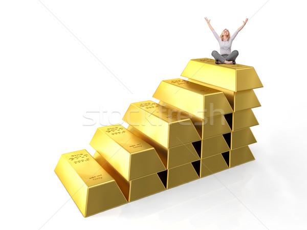 to be rich Stock photo © tiero