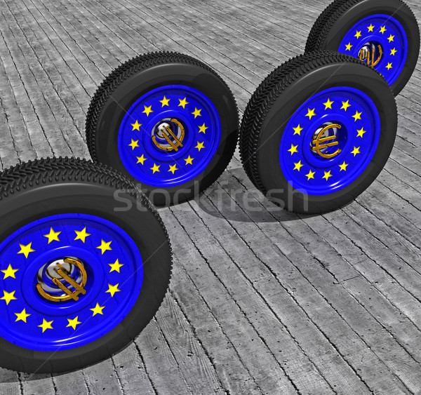 europe is moving fast Stock photo © tiero