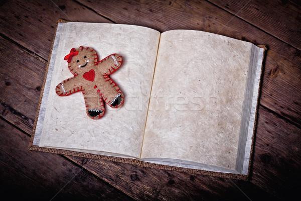 christmas book Stock photo © tiero