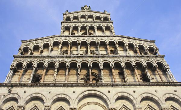 San Michele church in Lucca Stock photo © tiero