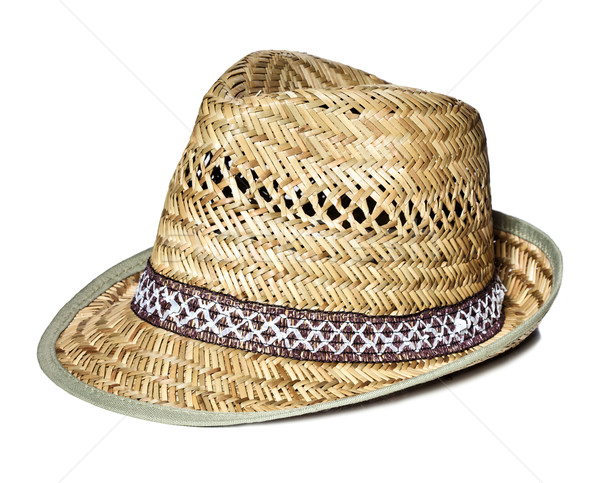 straw hat Stock photo © tiero