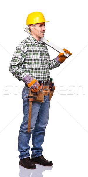 handyman portrait Stock photo © tiero