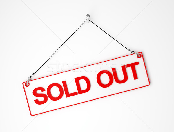 sold out Stock photo © tiero