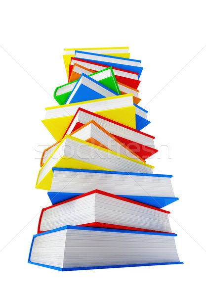 pile of book Stock photo © tiero