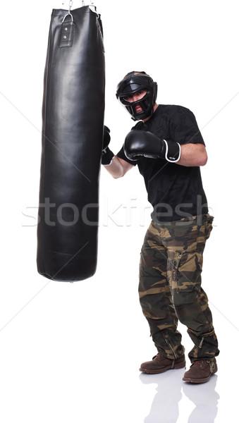 Stock photo: self defence training