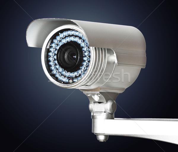 Cctv kamera kép klasszikus infravörös biztonsági kamera Stock fotó © tiero