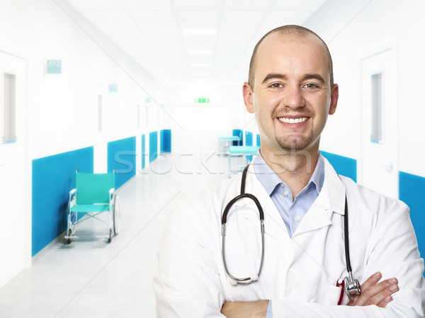 young doctor portrait Stock photo © tiero