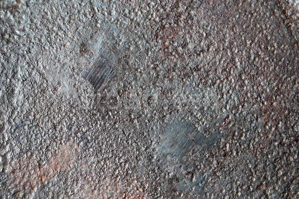 Stock photo: fine metal grunge texture