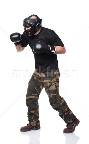 fighter Stock photo © tiero