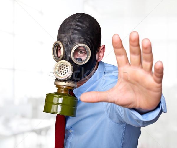 protection mask Stock photo © tiero