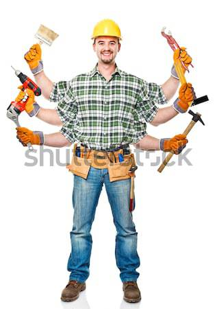 detail of manual worker Stock photo © tiero